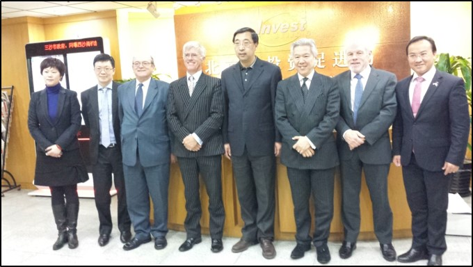 GCL Director General of Beijing Investment Promotion Bureau